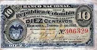Resultado de imagen para monedas de colombia antiguas