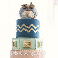 Owl-tastic! A Winter-Themed Cake