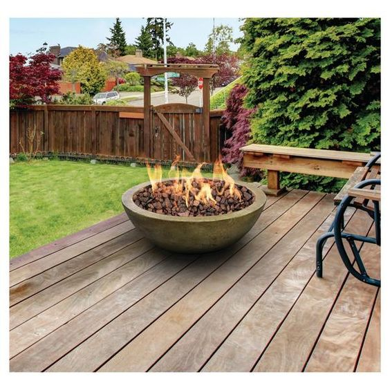 Mondavi gas fire bowl is a fabulous addition to any outdoor living area! Its simple design will complement virtually any decor while providing you and your gues