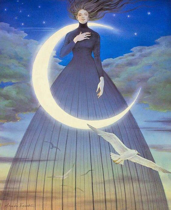 Fina y delgada es la linea  entre estar dormido y despierto Apenas perceptible para un ojo distraído pero les aseguro créanme que no hay mayor dormido que aquel que espera llenar su vacío con abundancia que llegue desde afuera sin haberla encontrado dentro.  #alejandrabaldrich #Arte #AsakoEguchi