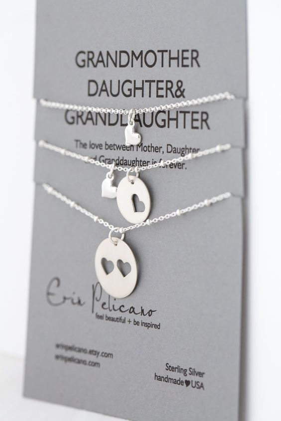 Granddaughters grandmothers and daughters on pinterest for Birthday gifts for grandma from granddaughter