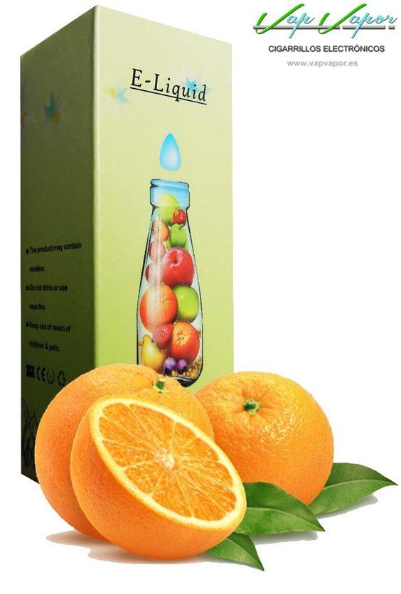 e-liquid Naranja  http://www.vapvapor.es/liquido-frutas-cigarrillo-electronico  Líquidos para cigarrillos electrónicos de la marca e-liquid. Nuestra marca e-liquid se caracteriza por su gran variedad de aromas y sabores.     - e-liquid sabor Naranja (Cítrico)     - Categoría: frutas