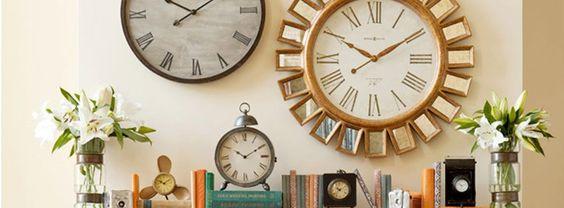 clocks from Wayfair