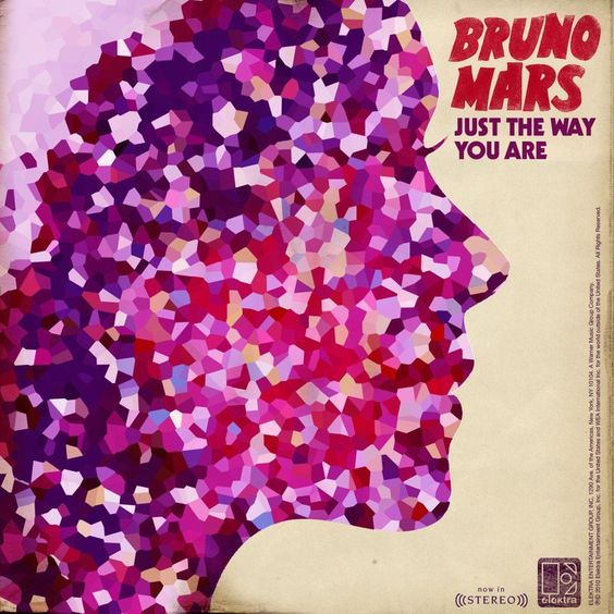 Bruno Mars – Just the Way You Are (single cover art)