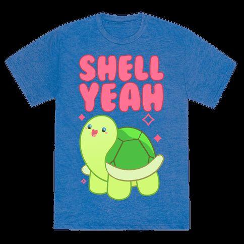 Shell Yeah Cute Turtle Tee