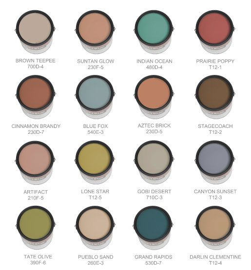 looking for a southwestern palette look no further for
