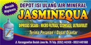 Contoh Spanduk Depot Air Minum - Btt Documents