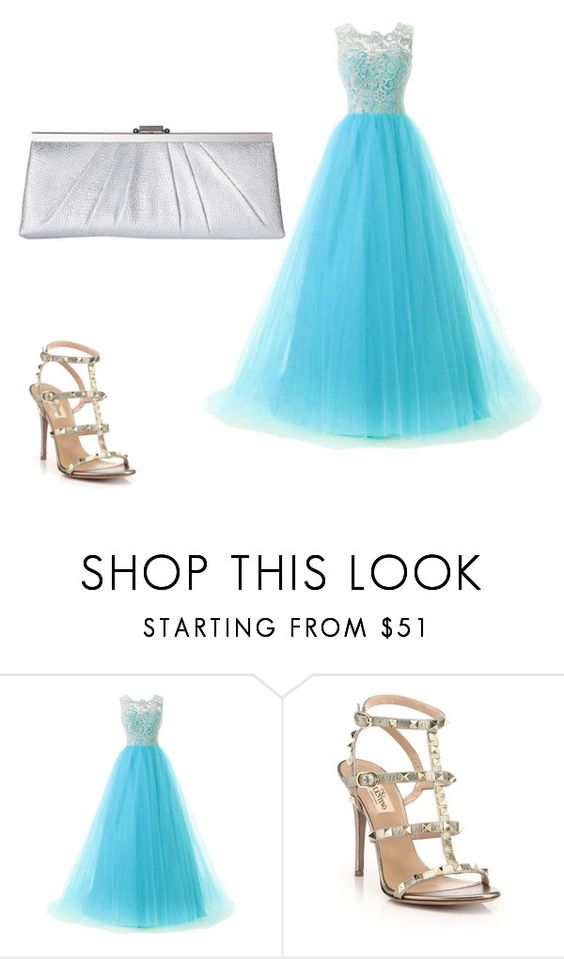 """""""i love it"""" by robbie-w on Polyvore featuring Valentino and Jessica McClintock"""