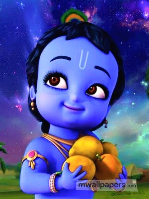 Little Krishna Cute Android Iphone Wallpaper 59 Krishna Littlekrishna Little Krishna Cartoons Krishna Krishna Wallpaper