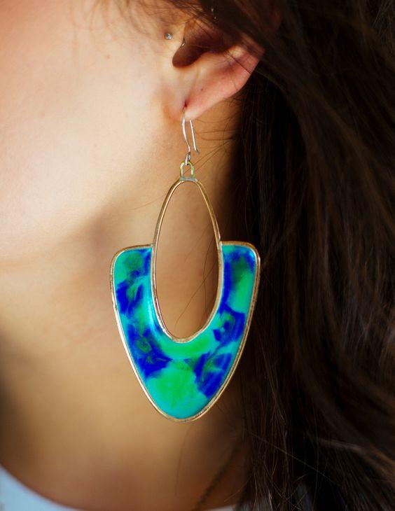 Earrings by Studio Sophia Sophia