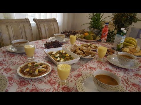 Table Algerienne طاولة أكل جزائرية Food Recipes Yams