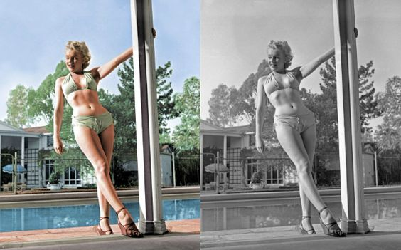 Color Photos of Iconic Sex Symbols | StyleCaster