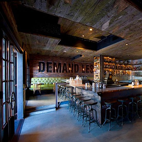 Craft & Commerce in San Diego, CA Philip Ward of New York City's Mayahuel helped with the drink menu at this rustic-industrial Little Italy spot. Don't miss the Mother's Ruin punch for four (gin, spiced black tea, sweet vermouth, citrus juices and Champagne) and beer cocktails like Up in Smoke (barrel-aged Tripel ale, Islay Scotch and apple and lime juices). craft-commerce.com