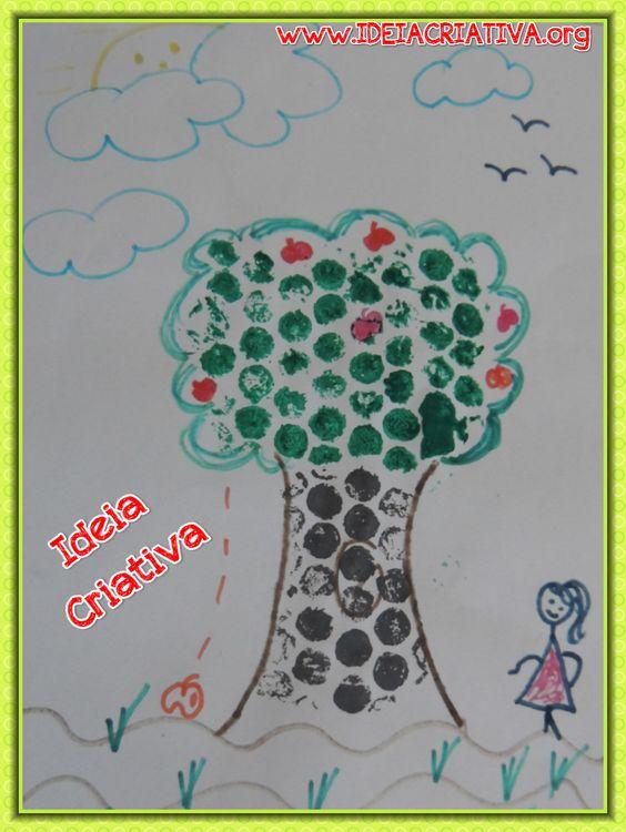 T cnica de pintura pl stico bolha meio ambiente dia da rvore atividades para educa o - Pintura para plastico ...