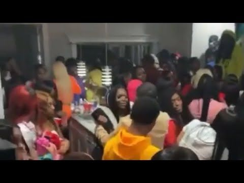 Over 1000 People Attend House Party In Chicago During Corona Youtube In 2020 House Party Millennials Work Chicago