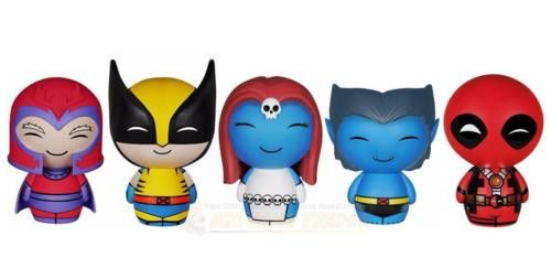 The Dorbz conquest of the Marvel Universe continues with this Funko Dorbz X-Men Vinyl Figure Bundle! Featuring - Wolverine, Beast, Magneto, Mystique, and Deadpool Vinyl Action Figures. Each figure measures approximately 3 inches tall. Check out the other X-Men Dorbz From Funko! #funko #popvinyl #actionfigure #collectible #Dorbz #XMen #Bundle