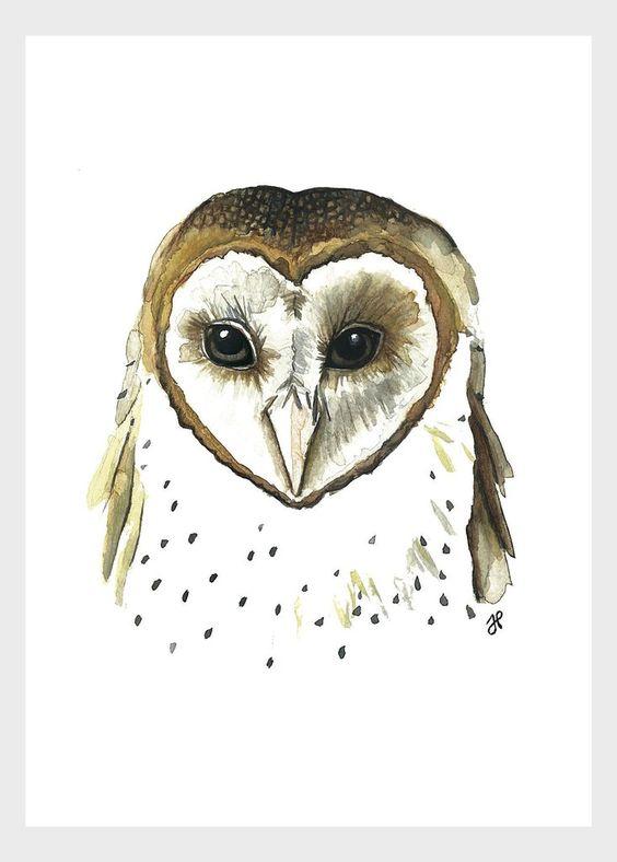 Owl Print - Mikko x Julia Haney