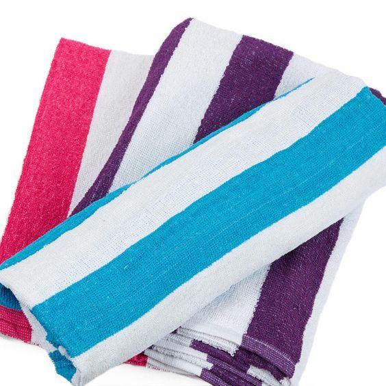Cabana Striped Beach Towel Beach Towel Beach Themes Cabana