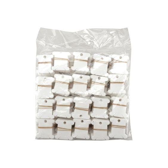 Plastic Floss Bobbins - Bulk-1,000/Pkg