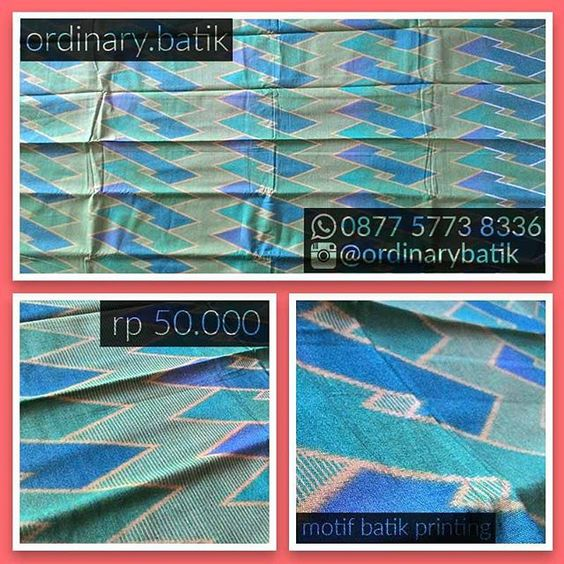 Kain Motif Batik  Dimensi : ±110 x 210 cm  Jenis : Batik printing  Ciri Bahan : Tidak panas, lembut  Kunjungi lapak online kami untuk belanja aman dan nyaman di, TokoPedia : http://tokopedia.com/ordinarybatik  @ordinarybatik  #kainmotifbatik #batik #ordinarybatik #jember #pekalongan #indonesia #batikindonesia #jualbatik #kainbatik #batikukm #indonesialocalbrand #batiktulis #batikcap #batikprinting #jualbatikmurah #batikpekalongan #batikmodern #batiktradisional #cintabatik #distributorbatik…