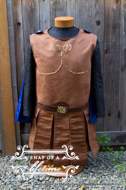 Hercules Men's Costume Adult Screen Quality with by BbeautyDesigns