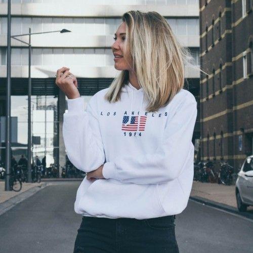 Sweater Los Angeles zwart Truien & Sweaters | Trui, Sweater