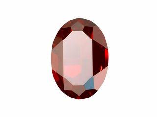 Swarovski 4127 30mm Fancy Oval Crystal Red Magma