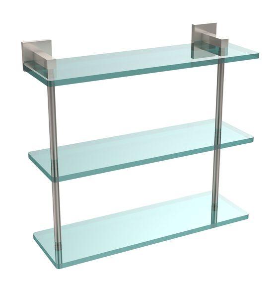 "Montero 16"" W x 14.9"" H Bathroom Shelf"