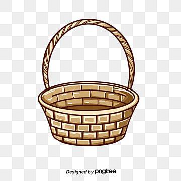 Hermosa Canasta Clipart De Canasta Cesta Cesta Vacia Png Y Psd Para Descargar Gratis Pngtree In 2020 Painted Easter Baskets Painted Baskets Basket Creative