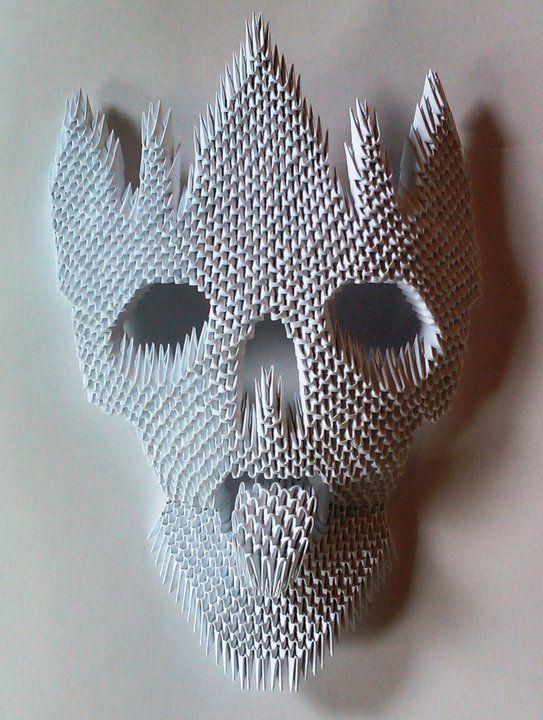 Mask of chinese units (my work)