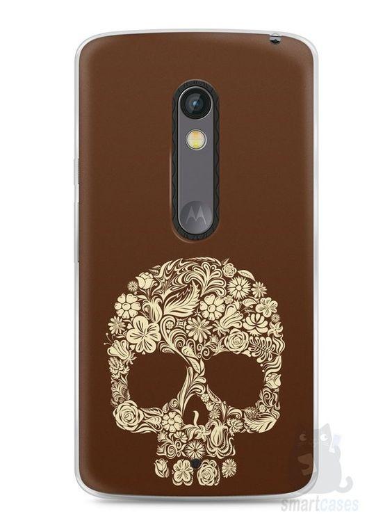 Capa Capinha Moto X Play Caveira #5 - SmartCases - Acessórios para celulares e tablets :)
