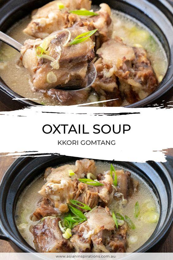 Oxtail Soup (Kkori Gomtang)