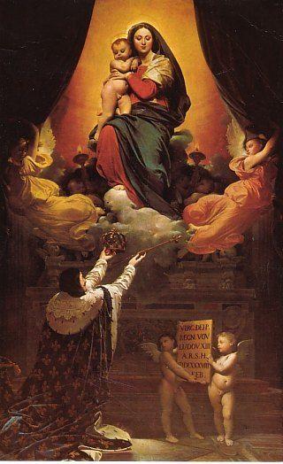 15/08 Assomption : institution de la fête  et Voeu de Louis XIII