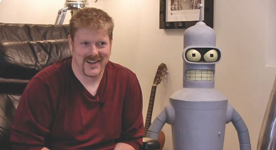 Check out this San Diego Reader story written by our very own Kristin Naomi Garcia... she eventually went on to interview John DiMaggio for IntelleXual News this year!