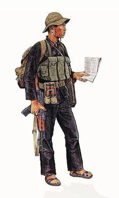 Soldados del Viet Cong. Pin by Paolo Marzioli