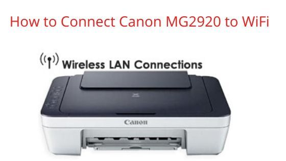 How To Connect A Canon Printer To A Wireless Network Wireless Printer Wireless Networking Printer