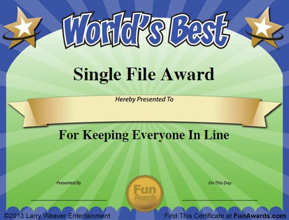 Funny Certificate Template jpeg pin powerpoint award certificate – Sample Certificate of Service Template