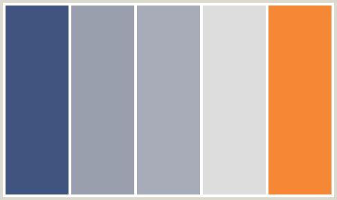 Reason This Color Scheme Fits Within That Fun W Orange