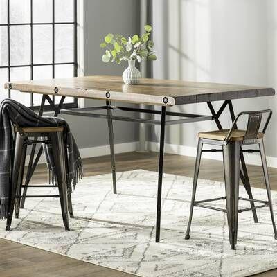 Trent Austin Design Urbana Incredible Convertible Dining Table Reviews Wayfair Arquitetura