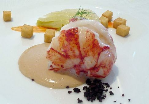 Oven Baked Butter-Poached Lobster Edibles♨