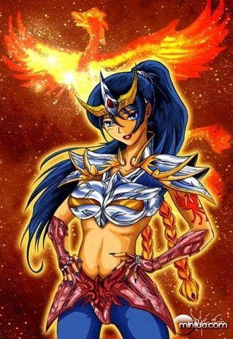 Versão Feminina: Cavaleiros do Zodíaco.