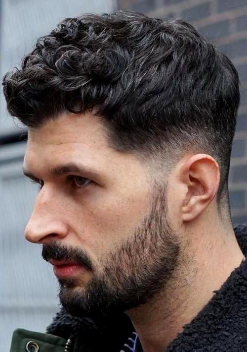 23 Cortes de cabello hombre rizado