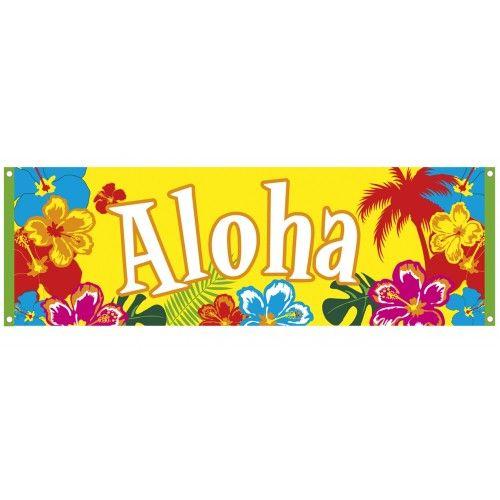 versiering voor ons  luau/ feest op 1 juni