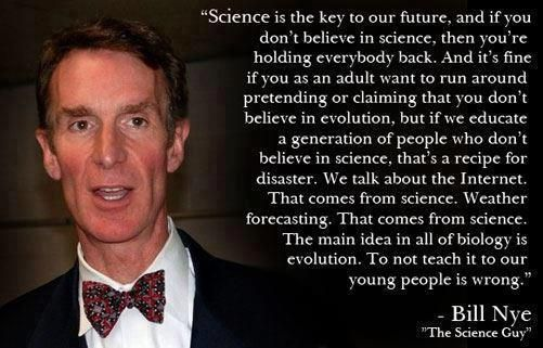 Yep! Can you imagine if they taught in schools that evolution is just some idea that SOME people have!? (Which is something that has been proposed as a potential LAW in some states.)