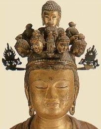 Juichimen Kannon (Avalokitesvara) Bosatsu - Hase Dera, Edo Period