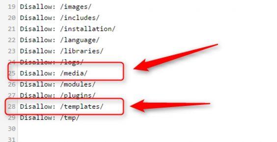Google die CSS und JS Dateien crawlen lassen