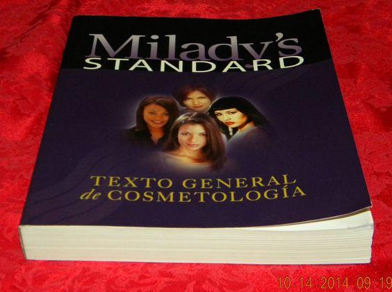 Texto General de Cosmetologia by Milady Publishing Co, 1999 Y Libro De Ejercicio #TextbookBundle