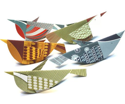 Melvin Bird Mobile Kit: Paper Craft, Grasshopper Ideas, Melvin Bird, Art Birds, Paper Birds, Craft Ideas Birds