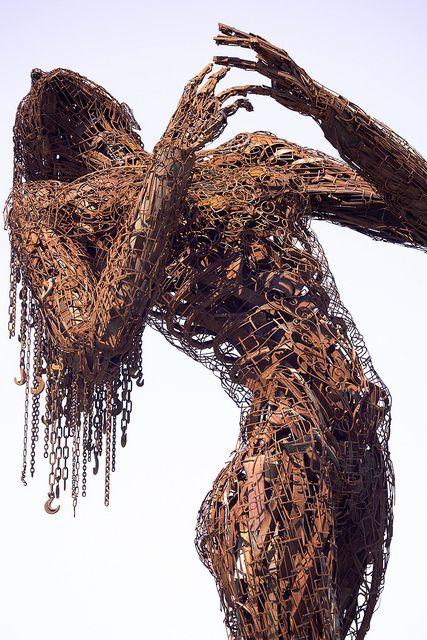 Karen Cusolito.: Metal Sculptures, Karen O'Neil, Art Sculptures, Metal Art, Sculpture Art, Metalart