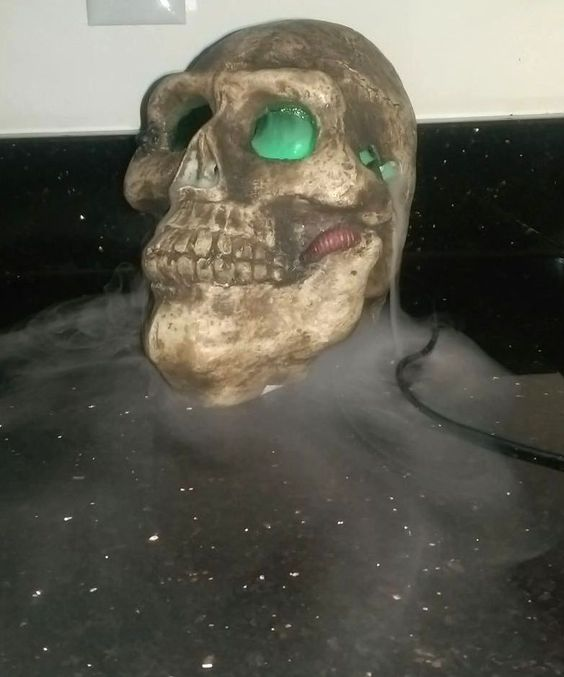 Halloween Fogger disney halloween star wars darth vader mister fogger new Mr Foggy Mist Making Skull Fogger Green Light Totally Ghoul Halloween Fog Water Halloween